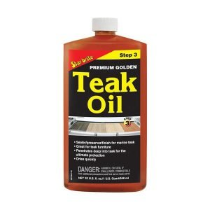 Premium Teak Oil Preser Va Tive / Sealer – Step 3