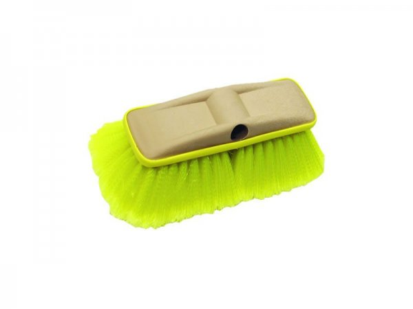 Soft Wash Brush – Deluxe Block Brush with Bumper