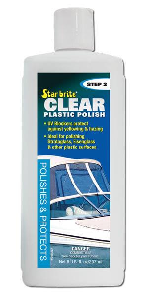 Clear Plastic Polish - Step 2