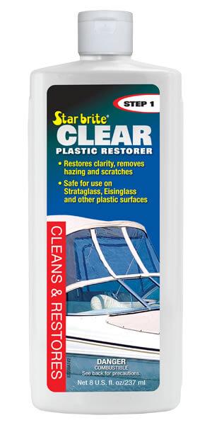 Clear Plastic Restorer - Step 1