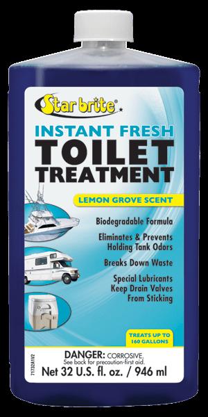 Instant Fresh Toilet Treatment Lemon Scent