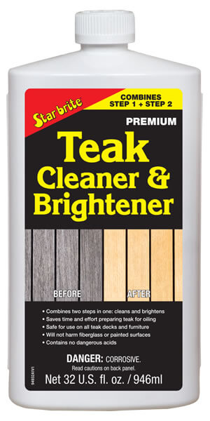 One Step Teak Cleaner and Brightener