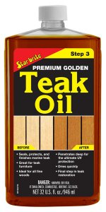 Premium Golden Teak Oil - Step 3