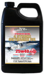 Premium Synthetic Blend 4 Stroke Outboard Oil 25W 40 283.A1