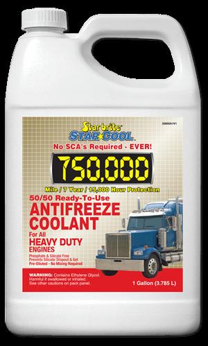 Star Cool 50-50 Antifreeze Coolant