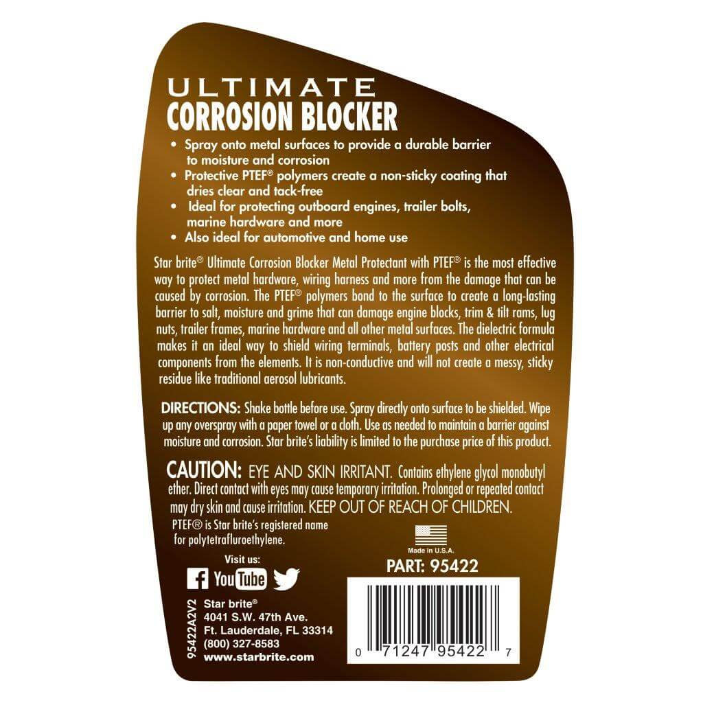 Corrosion Blocker Instructions 95422.A2