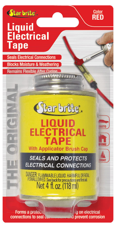 Liquid Electrical Tape - LET 4 FL OZ CAN Black