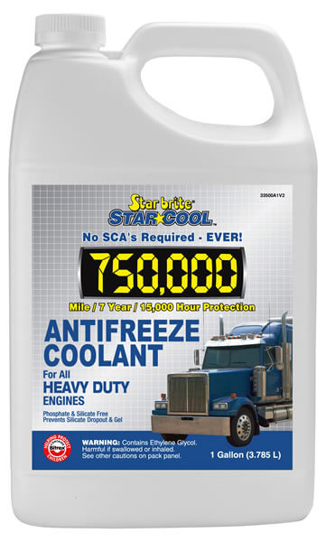 Star-Cool Coolant 750000 mile – Full Concentrate 33500 A1