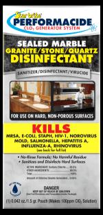 Disinfectant for Sealed Stone - 32 oz Kit - 102132