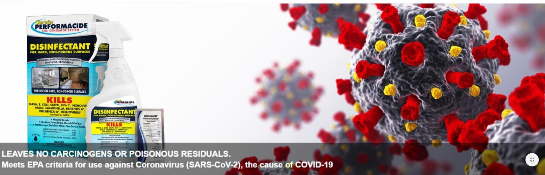 Performacide - Coronavirus (COVID-19)